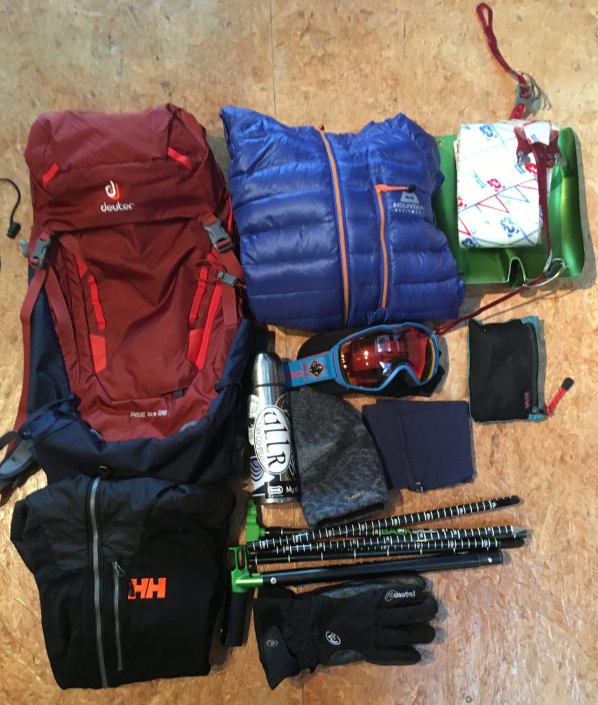 Deuter Rise Lite backcountry ski pack