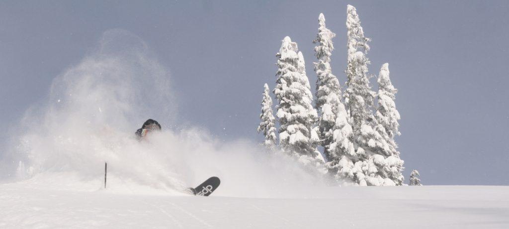 fritschi tectonic deep powder skiing
