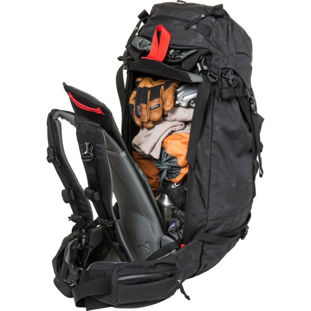 mystery ranch ski pack