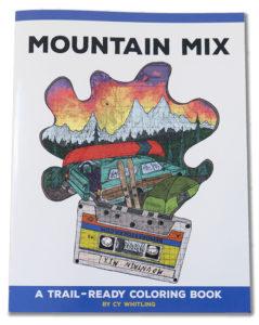 mountain coloring book