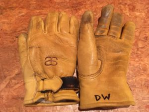 Altai leather ski Glove