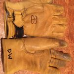 Altai leather ski Glove