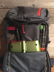 patagonia descensionist ski pack