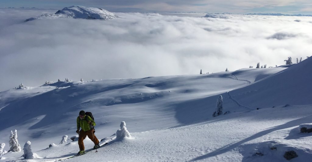 baselayers for backcountry skiing