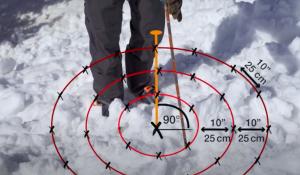 avalanche rescue probe
