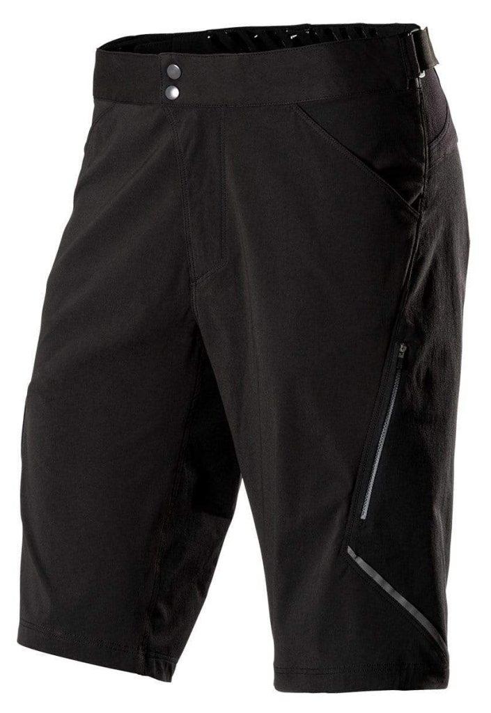 product shot of showerspass apex bike shorts