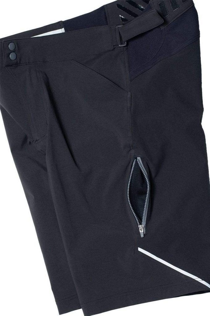 showers pass apex shorts detailed view